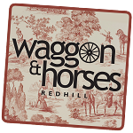 logo for Waggon and Horses