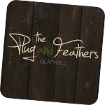 logo for Plug and Feathers